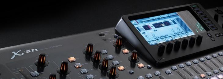 Behringer X32: l'hardware