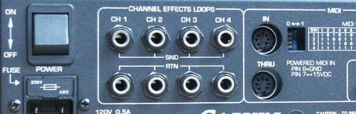 Overdrive nell'effect loop