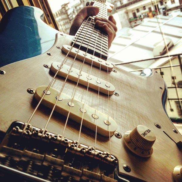 La mia prima Stratocaster