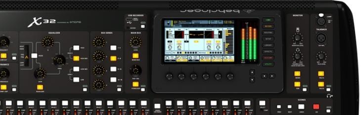 Behringer X32: il software
