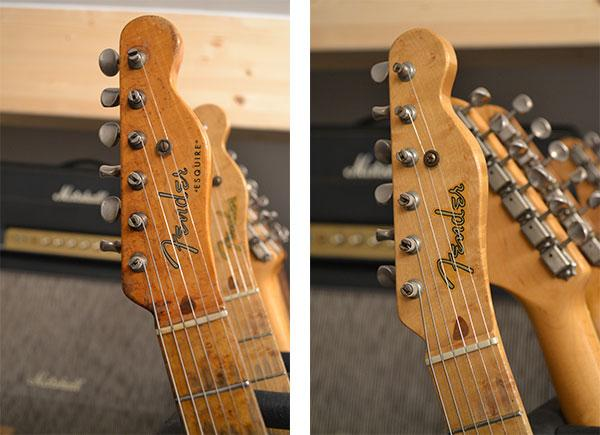 Fender Esquire 1952 contro Nocaster Custom Shop