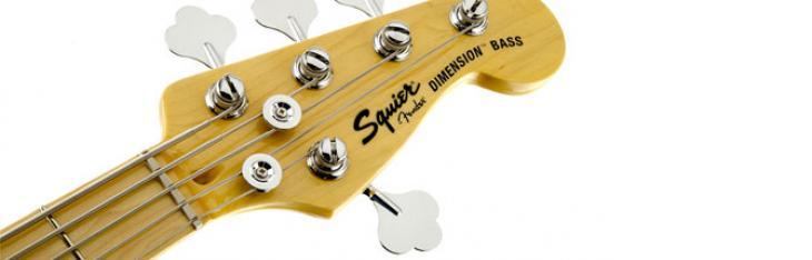 Squier Deluxe Dimension Bass V: cinque corde al prezzo di quattro