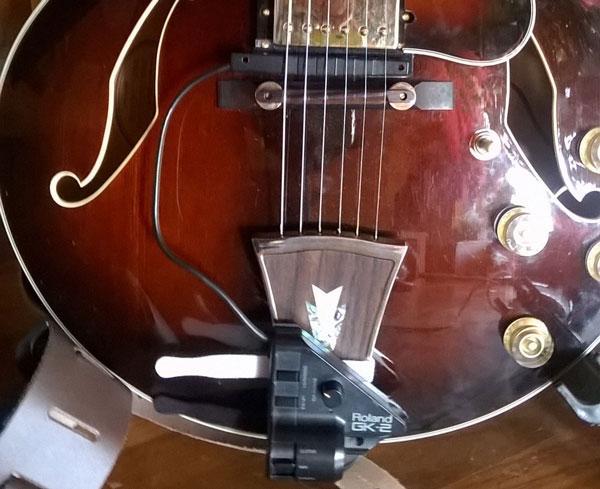 Come ti monto l'esafonico senza intaccare la chitarra