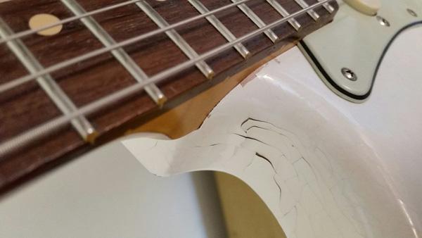 Mi si è ristretta la Stratocaster?