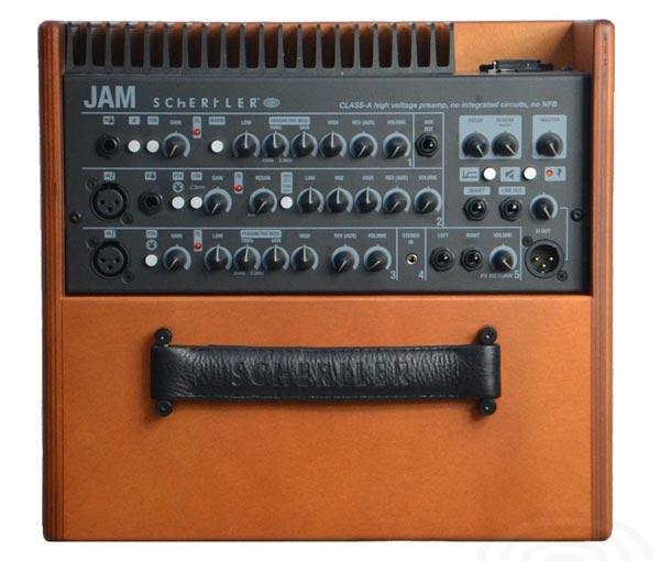 Schertler Jam: 5 canali di acustica biamplificata