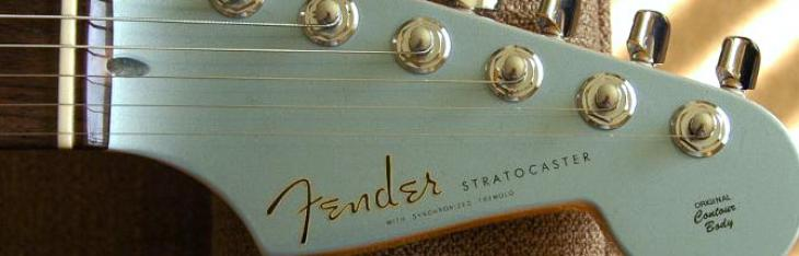 Fender Stratocaster Custom Shop '60 Relic Matching Headstock Limited