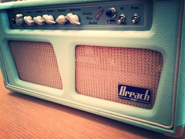 Breach Amps Muddy Blues Rocket: surf green da 40watt