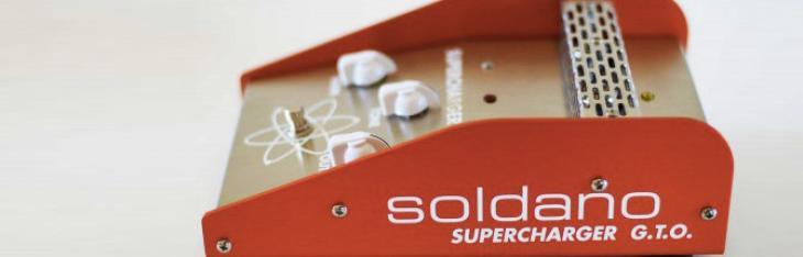 Soldano Supercharger GTO: torna lo SLO100 in scatola