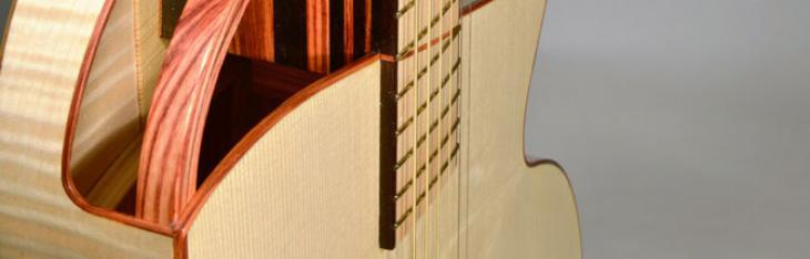 Momojiri Guitars Onda: chitarra artistica