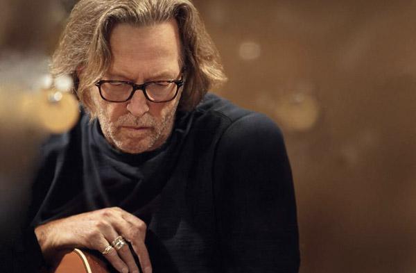 Eric Clapton fa fatica a suonare, ma si sente graziato