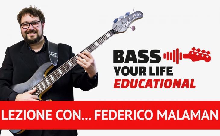 Federico Malaman: Masterclass su BassYourLife
