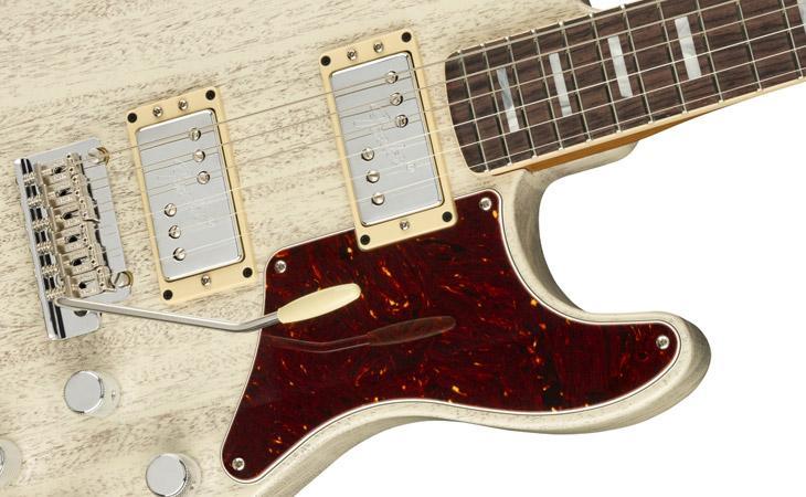 Uptown Strat: mogano a scala corta in casa Fender