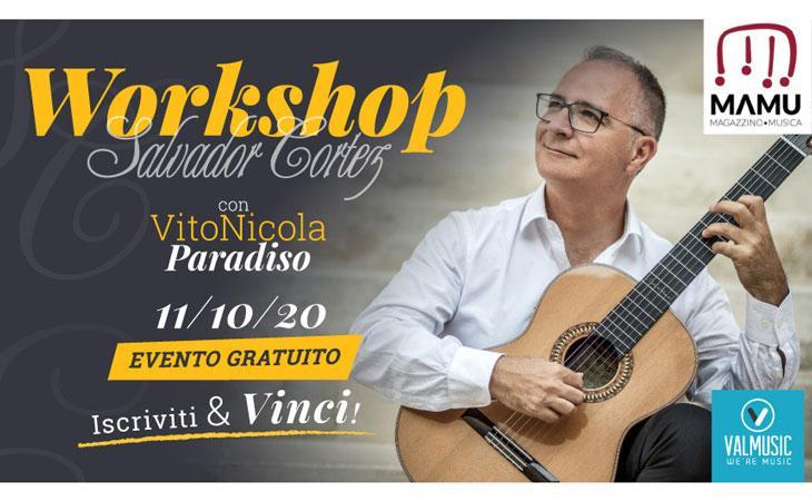 Workshop gratuito con il M° Vito Nicola Paradiso
