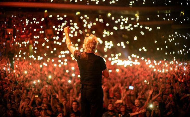 """""""Roger Waters: Us+Them"""" da oggi in Blu-Ray, DVD, CD ed LP"""