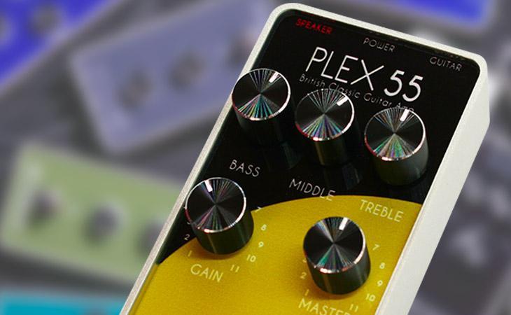 Tweed e Plex 55: ampli in miniatura da Foxgear