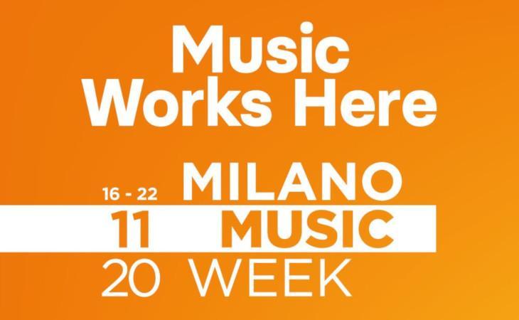 Milano Music Week torna dal 16 al 22 novembre 2020