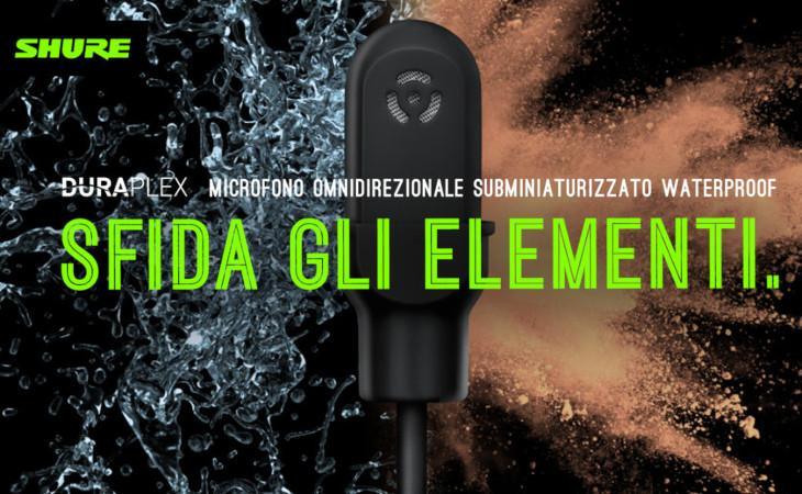 Webinar di presentazione dei microfoni Shure DuraPlex
