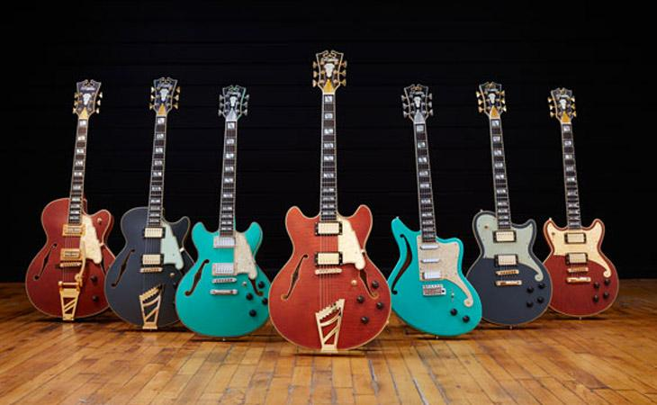In video le Limited Edition D'Angelico Deluxe