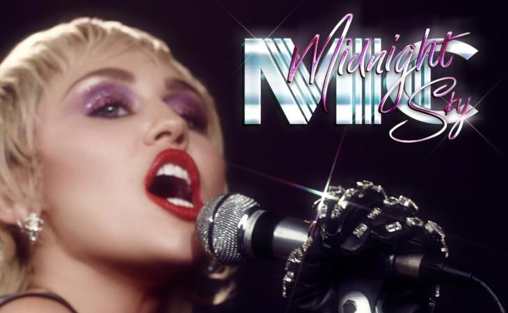 "Miley Cyrus: la nuova versione di ""Midnight Sky"" feat. Stevie Nicks"