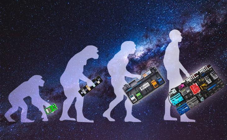 L'evoluzione inaspettata della mia pedalboard