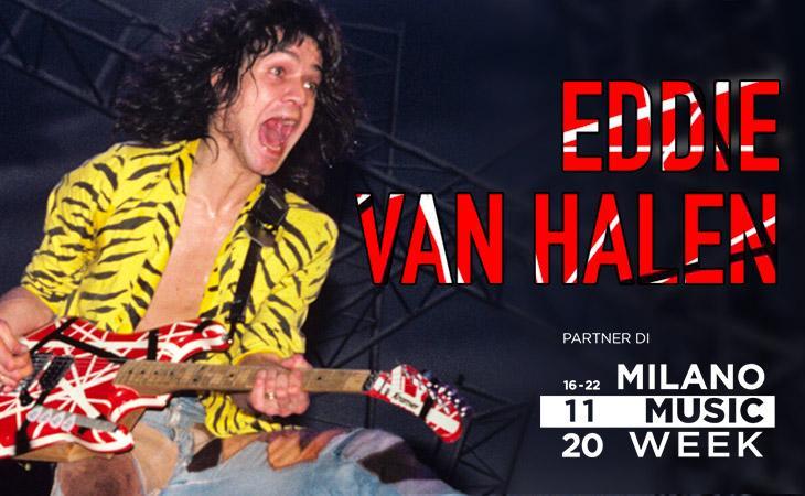 La storia e la chitarra senza regole di Eddie Van Halen nel workshop di Accordo