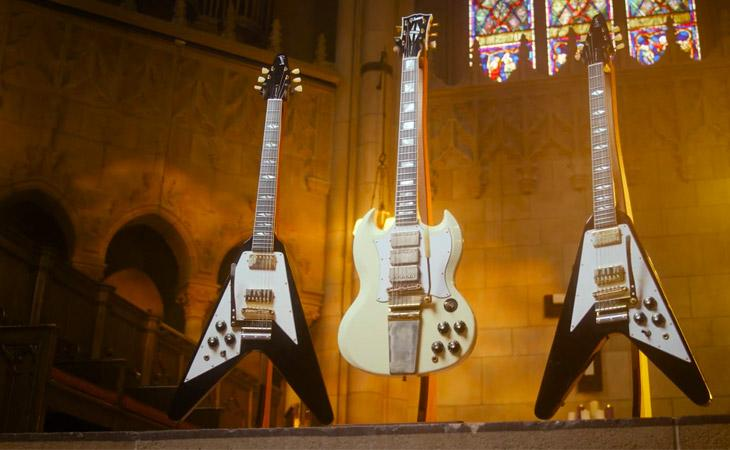 SG e Flying V: le due Inspired by Hendrix di Gibson