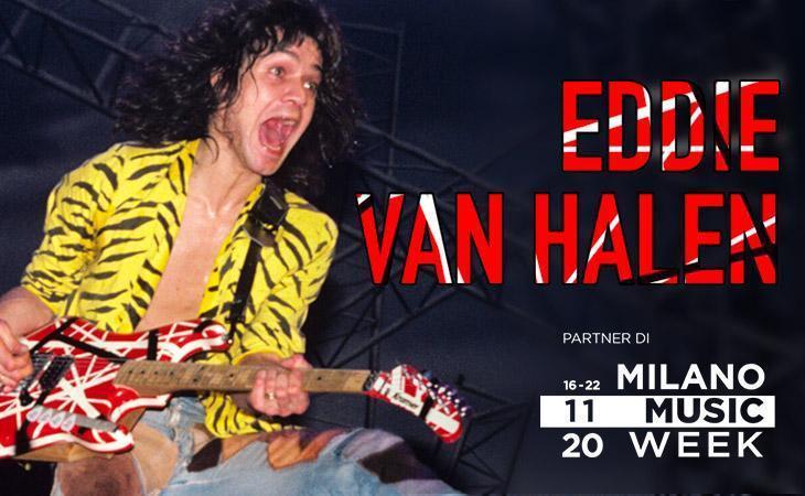 Stasera il workshop di Accordo su Eddie Van Halen: come seguirlo