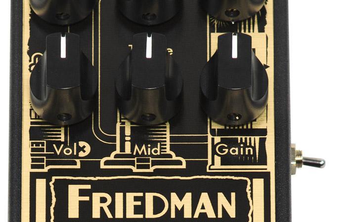 Il plexi-style Friedman Smallbox diventa un overdrive