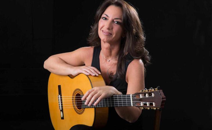 Angela Centola, Juan Martin e la chitarra flamenca