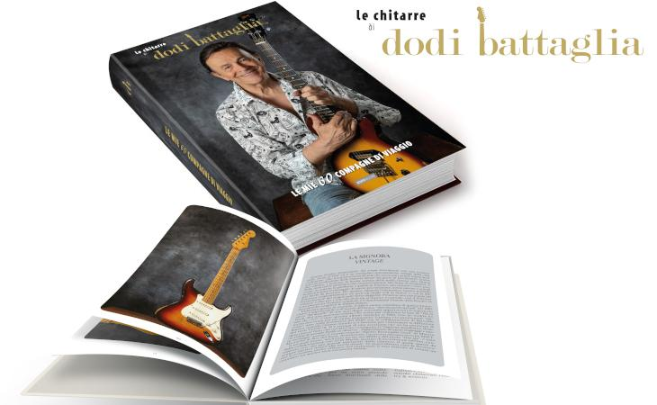 """Dodi Battaglia: la storia delle sue chitarre nel libro """"Le mie 60 compagne di viaggio"""""""