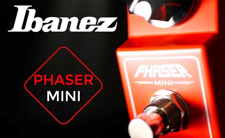 Il piccolo e potente Ibanez Phaser MINI