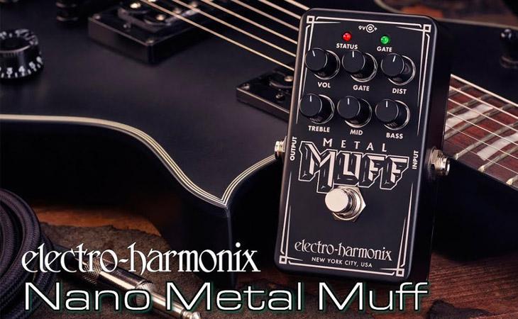 Micro Metal Muff: hi-gain in miniatura da EHX