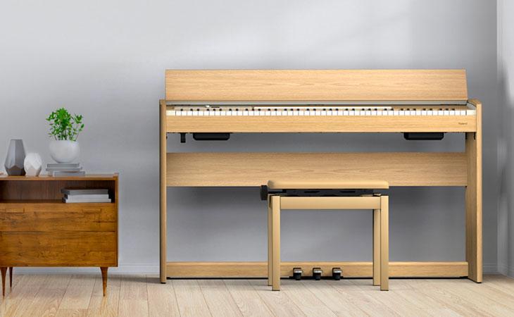 701: i pianoforti Roland per chi impara