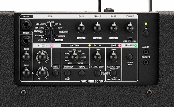 Vox Mini Go: ampli portatili fino a 50 watt
