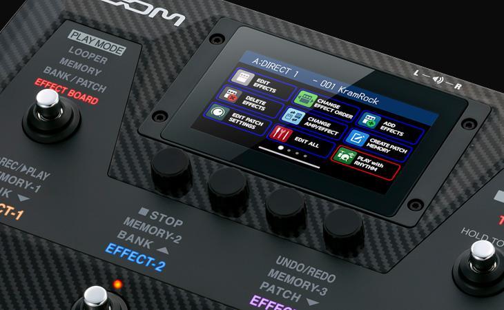 Arriva la G6: nuove vette per il multieffetto Zoom
