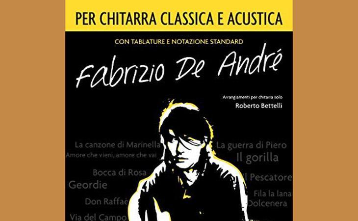 Fabrizio de André per chitarra classica e acustica