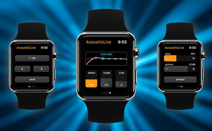 IR acustici LR Baggs ora anche dal tuo smart watch