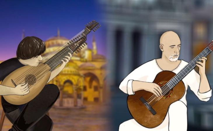 """""""Hammam"""" il brano di Roberto Fabbri in un'inedita versione con Edin Karamazov"""