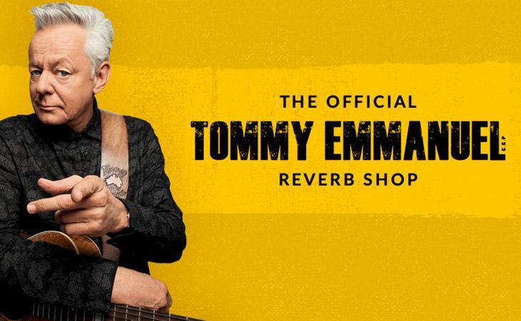 La collezione di Tommy Emmanuel in vendita per beneficenza