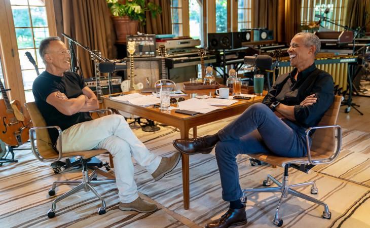 """""""Renegades: Born In The USA"""" il podcast di Bruce Springsteen e Barack Obama"""