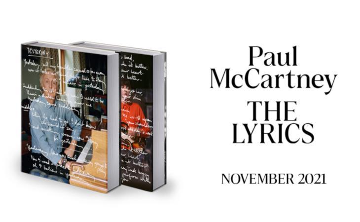 "Paul McCartney racconta la sua carriera nel libro ""The Lyrics"""