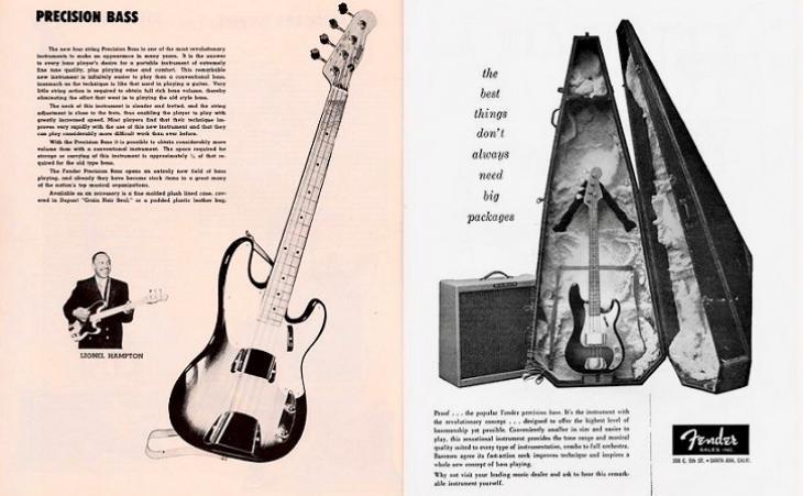 Il basso elettrico come concezione Leo Fender.