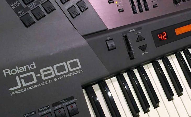 Il Roland JD-800 torna con la tecnologia ZEN-Core