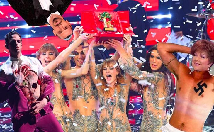A Sanremo ha vinto il rock: e giù tutti a indignarsi