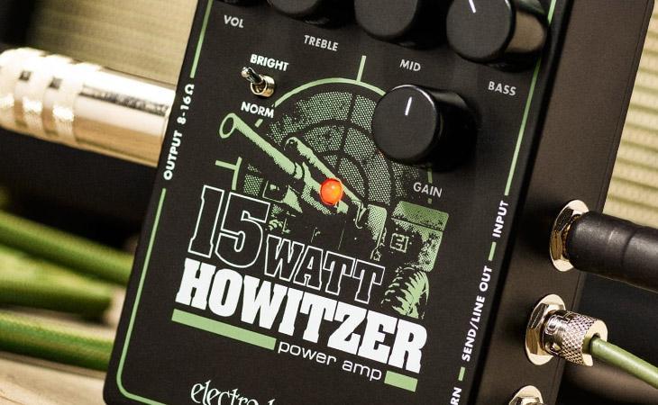EHX Howitzer: 15 watt in tasca
