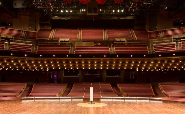 Le telecamere di The Scene al Grand Ole Opry