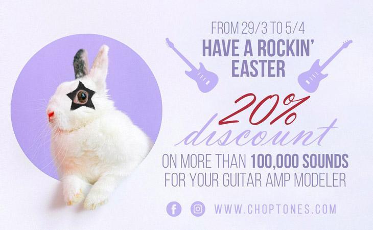 Choptones: 100mila suoni nell'uovo di Pasqua