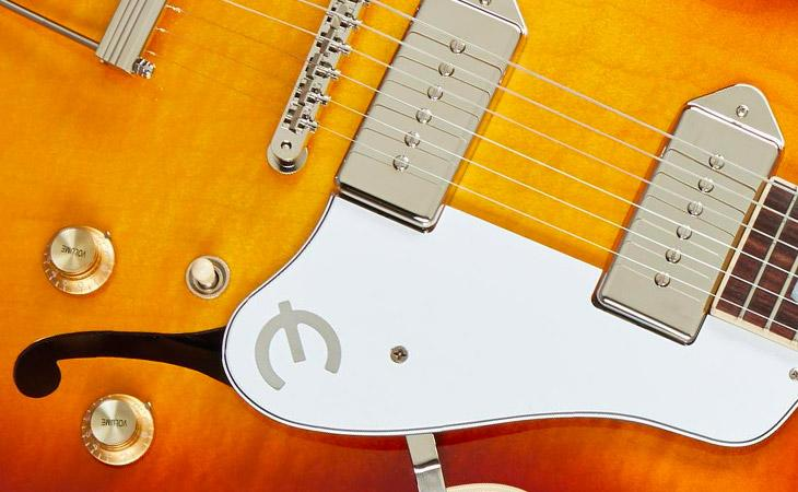La Epiphone Casino torna made in USA