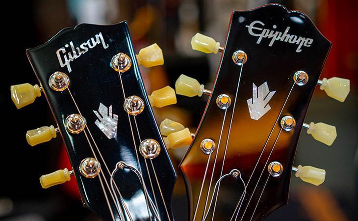 Gibson, Epiphone e il ritorno in USA