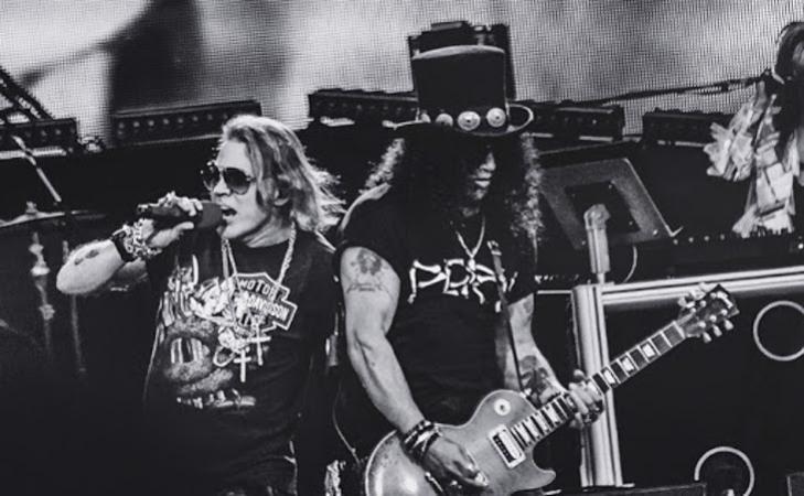 Guns N' Roses: annunciato il concerto a San Siro nel 2022